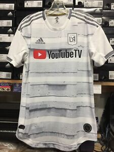 e2b7d7b4b04 Adidas Lafc Away Jersey 2019 Authentic White #10 Vela Name And ...