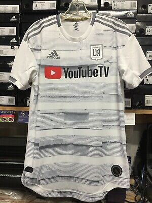 sale retailer 11f7c a4738 Adidas Lafc Away Jersey 2019 Authentic White #10 Vela Name And Number Size  XL | eBay