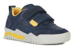 100/% Positive Reviews Geox J Pavel A Boys Navy//Red Trainers