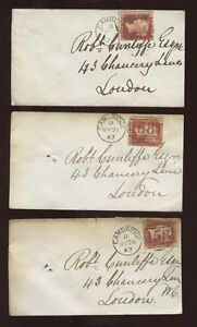 ONE RED STAMP ON ENVELOPE  TOP ONE IN PHOTO  CHANCERY LANE - <span itemprop='availableAtOrFrom'>Cambridgeshire, United Kingdom</span> - ONE RED STAMP ON ENVELOPE  TOP ONE IN PHOTO  CHANCERY LANE - Cambridgeshire, United Kingdom