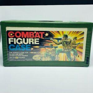 Action-figure-collectors-case-Gi-joe-combat-Tara-toy-vintage-1980s-holds-24-vtg