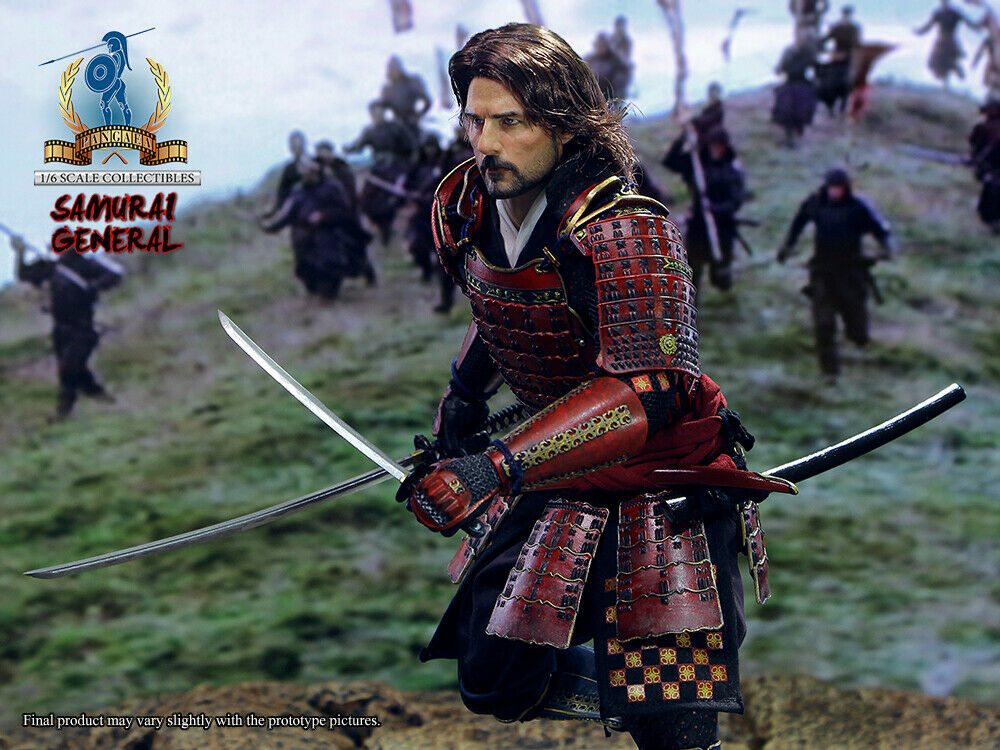 1 6 Pangaea Toy PG06 The Last Samurai General Nathan Algren Action Figure