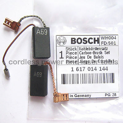 Bosch Carbon Brushes for GBH 5-40 DCE Rotary Hammer Drill Part 1 617 014 144
