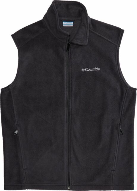 Brand New Mens Columbia Steens Mountain Full Zip Mens Fleece Style Vest 163926