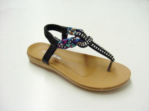 Kid Slip on Rhinestone Summer Sandals Size 12,2 BUY 1 GET 1 flipflop FREE