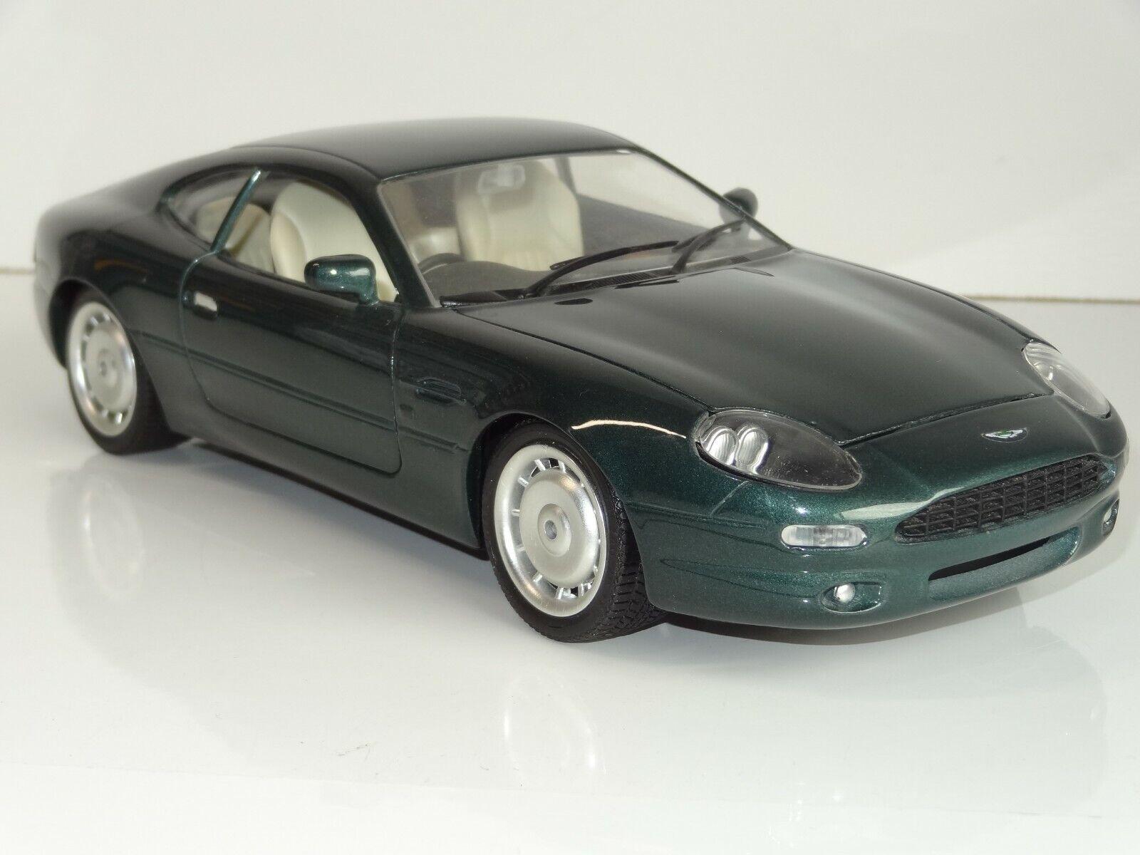 (W) Guiloy 1 18 Aston Martin DB7-verde oscuro menta en caja