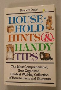 Household-Hints-and-Handy-Tips-by-Reader-039-s-Digest-Editors-1997-Paperback