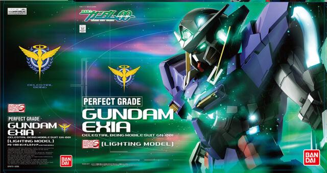 IN STOCK! PG Gundam EXIA Lighting -13% [€322] Bandai 1/60 [Acconto PRENOTAZIONE]