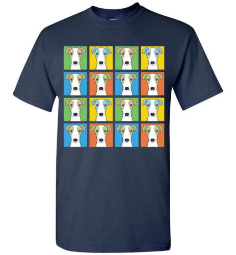 Men Women/'s Youth Tank Short Long Sleeve Whippet Cartoon Pop-Art T-Shirt Tee
