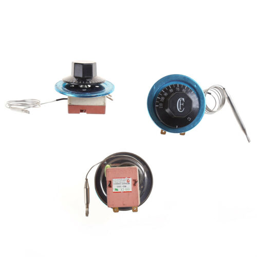 220V 16A Dial Thermostat Temperature Control Switch for Electric Oven new.