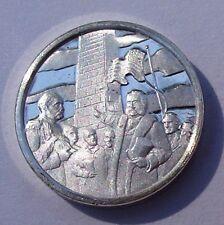 Franklin Mint Sterling Silver Mini-Ingot: 1885 Washington Monument Dedication