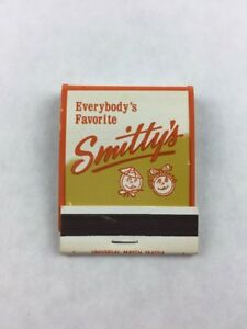 Vintage-Smitty-039-s-Pancake-House-Collectible-Matchbook