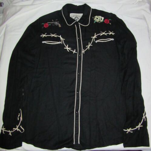 Lucky 13 Long Sleeve Shirt Rockabilly Punk Rock Me