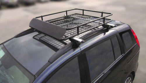 Lockable Aluminium Roof Rail Bars /& Car Rack Tray to fit Toyota Hilux SW4 06-15