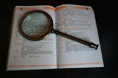 Antique Hand-held Reading Magnifier Magnifier Magnifying Glass Jewelry Loupe
