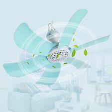 220V Portable 6 Blades Mini Ceiling Fan Easy Hang Hanging Summer Cooler Gift