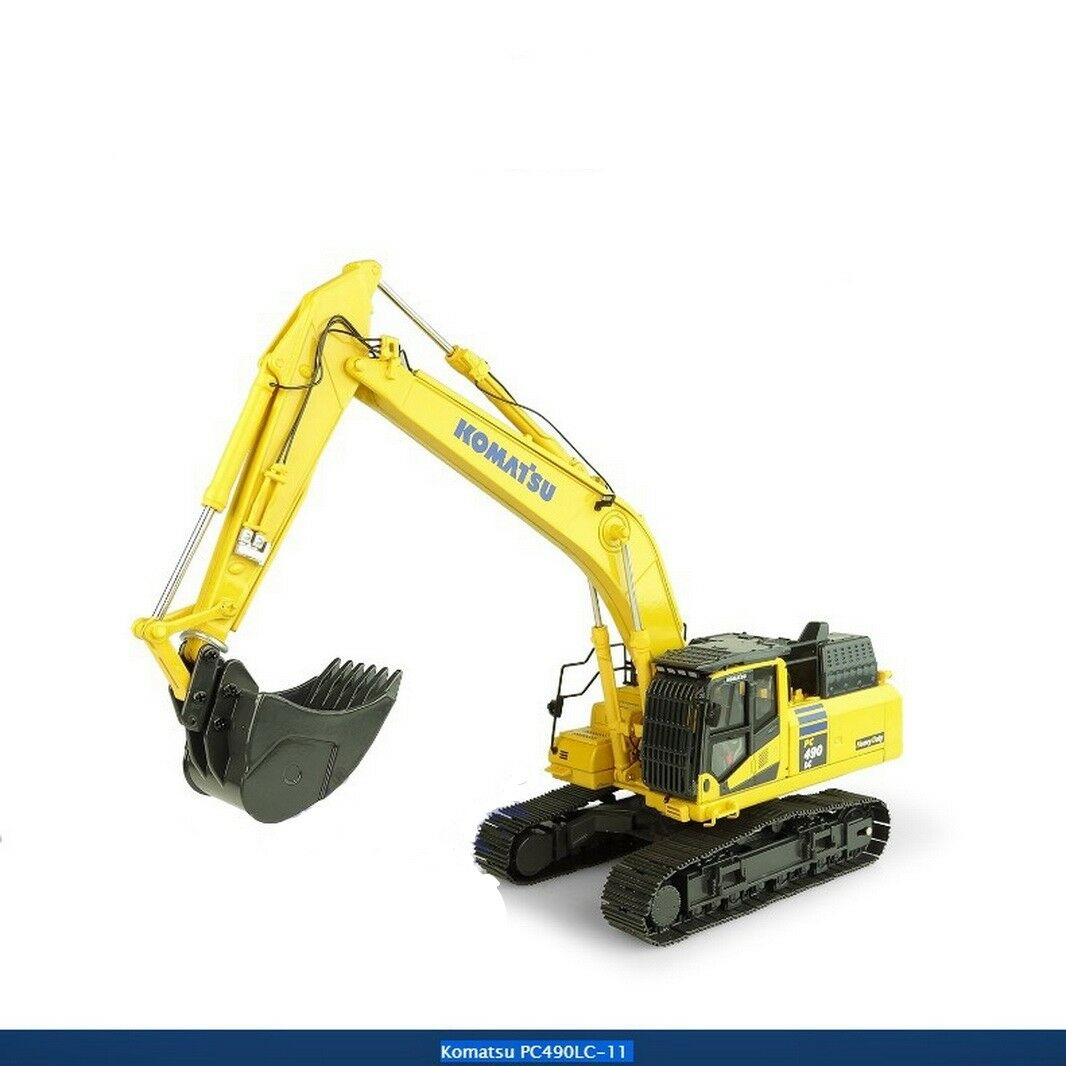 UH Universal Hobbies 150 Komatsu PC490LC-11 Excavator DieCast Model UH8120