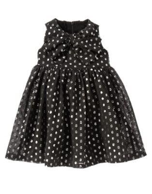 GYMBOREE PARTY PLAID BLACK SPARKLE DRESSY COAT JACKET 6 12 24 2T 3T 4 5 NWT