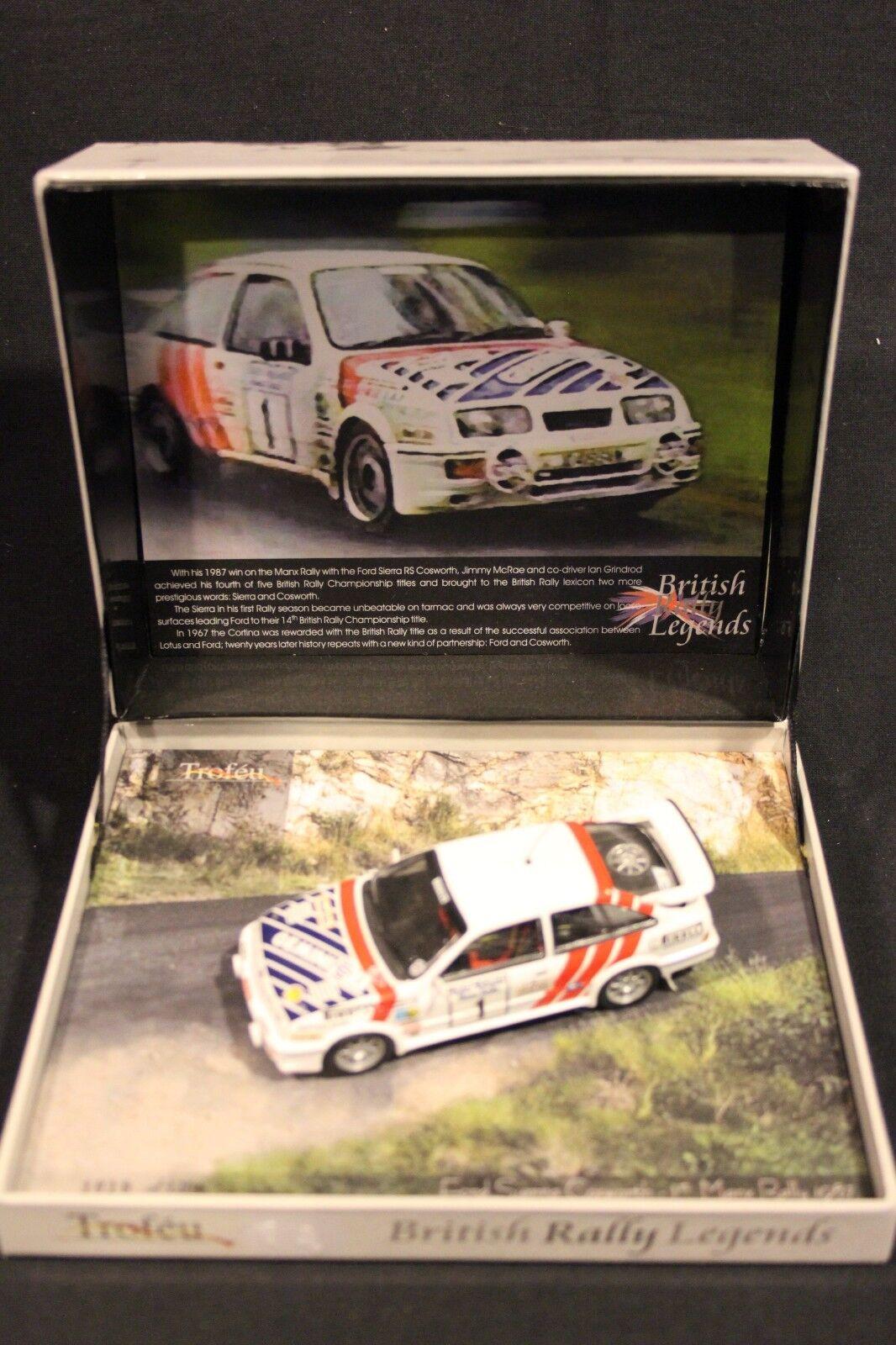 Troféu Ford Sierra RS Cosworth 1987 1 43  1 McRae   Grindrod winners Manx Rally