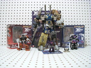Transformers Fansproject Bruticus Ca-01 Warcry, Explosion au Flame Ca-02, Mini Quakewave