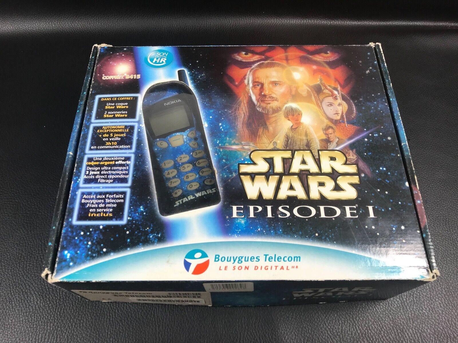 TÉLÉPHONE MOBILE NOKIA 5130 TELECOM B415 COFFRET STAR WARS