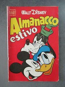ALMANACCO ESTIVO 1953 - ALBI D'ORO 26 - WALT DISNEY MONDADORI