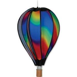 """Premier Kites Hot Air Balloon WAVY GRADIENT Wind Spinner (25772 - 22"""" size)"""