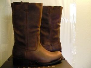 Men's Harley Davidson Boots Dartner Brown Pull On Riding size 8.5 new with box