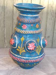 Gros-Pot-Decoratif-du-Rajasthan-Inde
