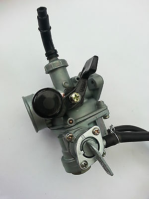 1 PZ 17mm 42mm Manual Choke with ON/Off Tap Carburetor Carb Honda C50 C70 C90