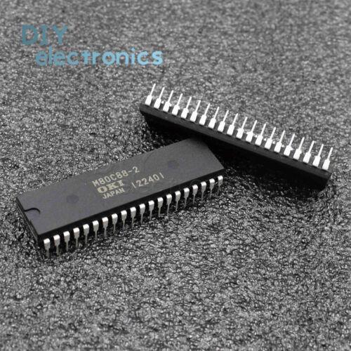 5PCS M80C88-2 80C88 80C88-2 40PINS 8-Bit CMOS MICROPROCESSOR OKI IC
