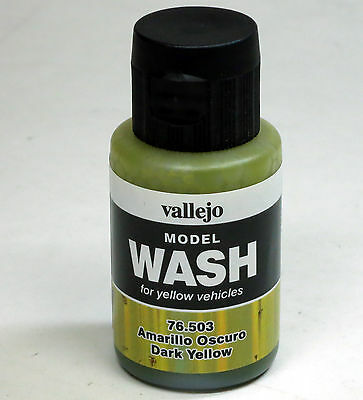 Vallejo Wash 76.503 Dark Yellow 35ml