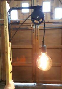 Applique Luminaire Vintage Fait Avec Bois De Palette N4 Ebay