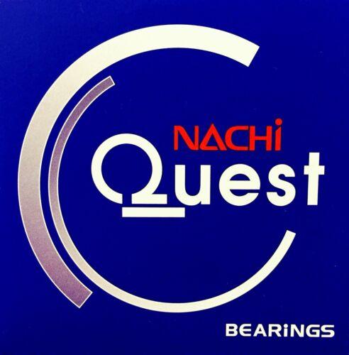 Qty-2 6003-2NSE C3 NACHI Ball Bearing EMQ 17x35x10mm 6003-2RS 6003 RS