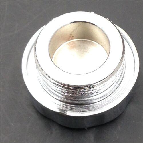 Chrome Brake Fluid Reservoir Cap Cover For Kawasaki ZZR600 05-07//ZX14R 06-12