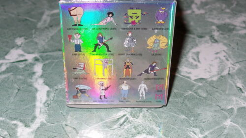 "Kidrobot Adult Swim Series 1 Mad Scientist 2.5/"" Vinyl Action Figure Chase 1//50"