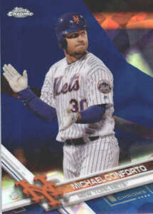 MICHAEL-CONFORTO-2017-TOPPS-CHROME-SAPPHIRE-EDITION-408-ONLY-250-MADE