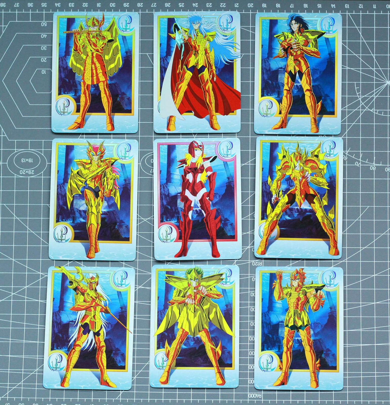Saint Seiya Gold spirit Play Golden Cards Flash poseidon siren sea horse 9+1+2