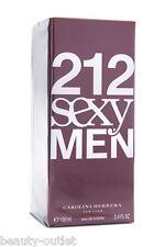 Carolina Herrera 212 SEXY MEN EDT 100ml 3.4oz Eau de Toilette Hombres Homens Man