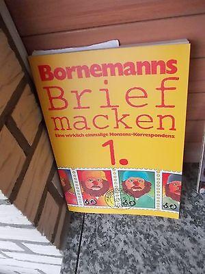 100% QualitäT Bornemanns Briefmacken, Eine Wirklich Einmalige Nonsens-korrespondenz Rheuma Und ErkäLtung Lindern