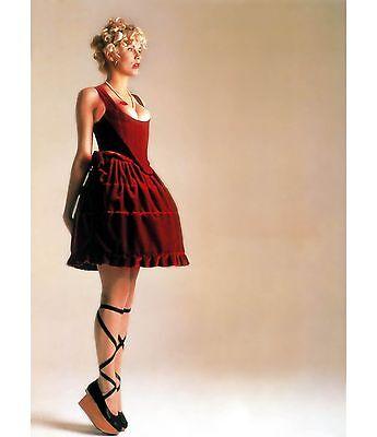 VIVIENNE WESTWOOD $660 Rocking Horse Ballerina Kid Black Leather Shoe 7.5/8/38