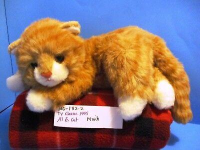 1995 4th Gen Al E Kat The Cat Classic Plush VINTAGE