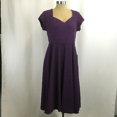 SIZE 16 NEW LINDY BOP FLORAL VALETTA STRAPPY SWING DRESS *NO BELT*