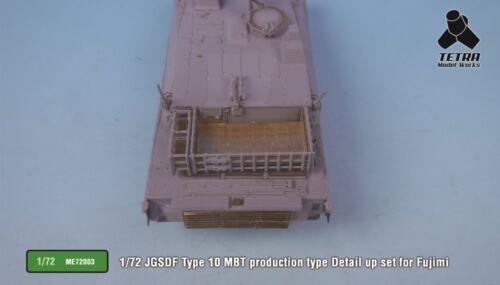 Details about  /Tetra Model ME72003 1//72 JGSDF Type 10 MBT Detail Up Set for Fujimi