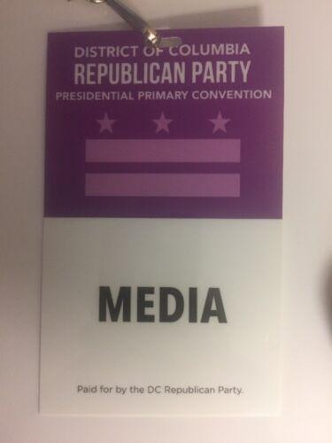2016 DC Republican Party Presidential Primary Lot Button Rubio Kasich Trump Cruz
