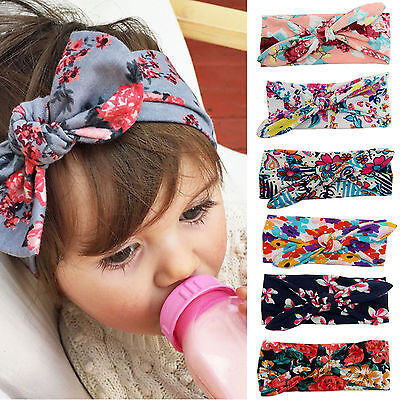 Newborn Baby Girls Bow Knot Crown Headband Alice Hair band Head Elastic Cute Kid
