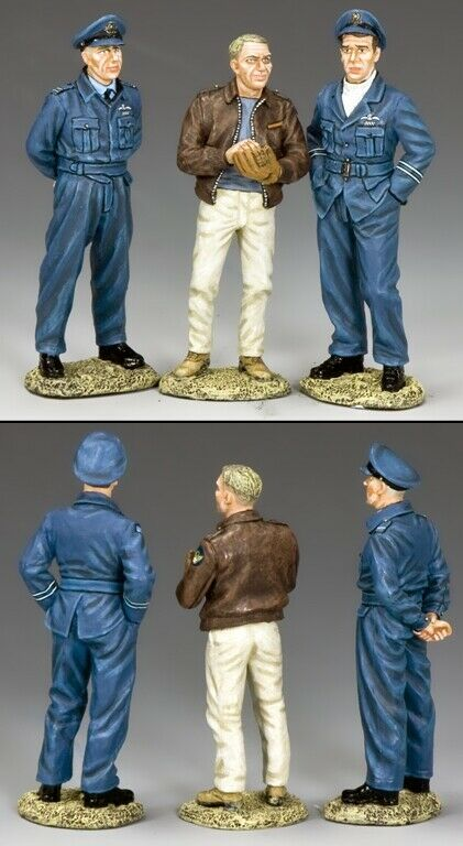 KING & COUNTRY WW2 AIR FORCE TGE001 THE GREAT ESCAPERS MIB