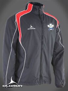 Wales-Rugby-Supporters-Showerproof-Jacket-XS-XXXL-Welsh-Plume-of-feathers