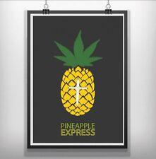 pineapple express Minimalist Minimal Film Movie Poster Print
