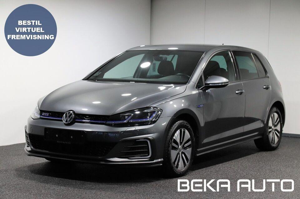 VW Golf VII 1,4 GTE DSG Benzin aut. Automatgear modelår 2019